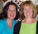 Holly Scherer and Kathie Hightower
